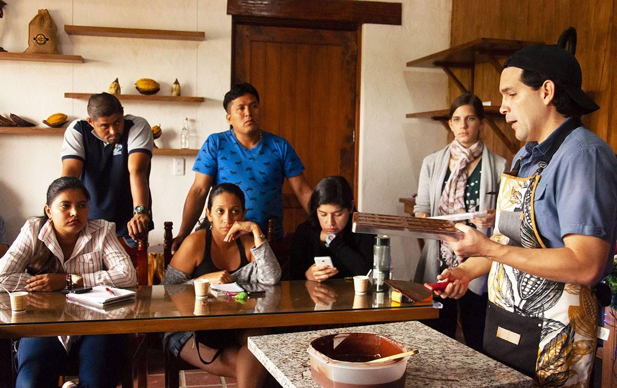Cacao fino de aroma atrae al turismo en Guayaquil